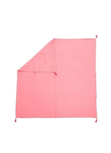 Cigit Cıgıt Püskül Muslin (Yıkanmıştır) Battaniye Renkli